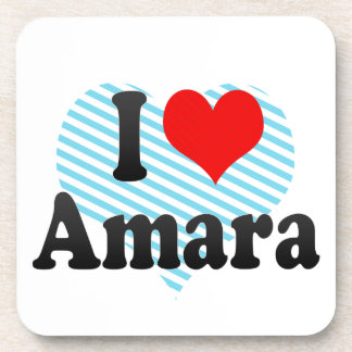 I love Amara Coaster