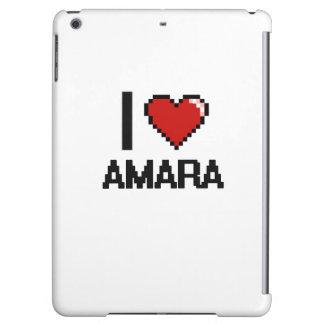 I Love Amara Digital Retro Design Case For iPad Air