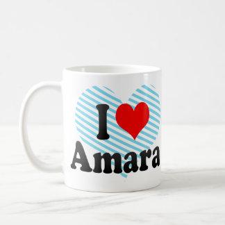 I love Amara Classic White Coffee Mug