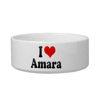 I love Amara Cat Food Bowl