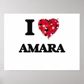 I Love Amara Poster