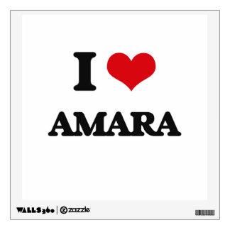 I Love Amara Wall Decor