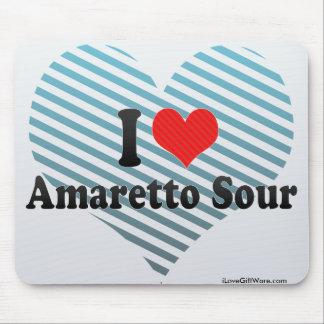 I Love Amaretto Sour Mousepad