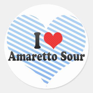 I Love Amaretto Sour Sticker