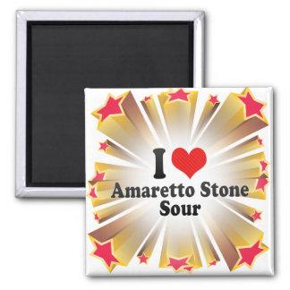 I Love Amaretto Stone+Sour Magnets