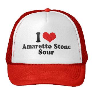 I Love Amaretto Stone+Sour Mesh Hats
