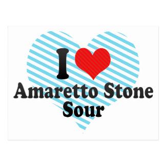 I Love Amaretto Stone+Sour Post Card