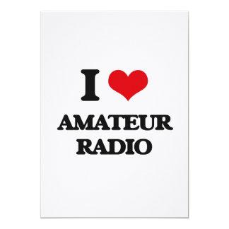 I Love Amateur Radio Custom Announcements