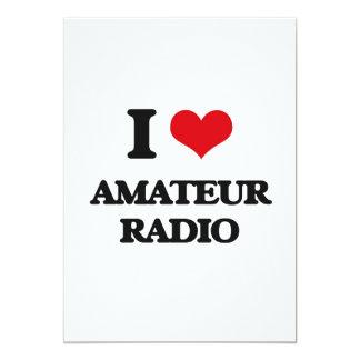 I Love Amateur Radio Custom Announcement