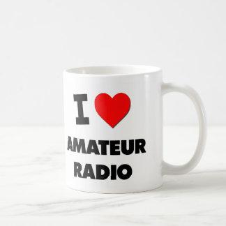 I Love Amateur Radio Coffee Mug