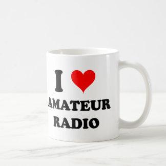 I Love Amateur Radio Mugs
