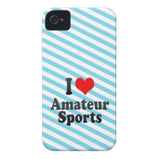 I love Amateur Sports iPhone 4 Case