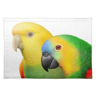 I Love Amazon Parrots Placemat