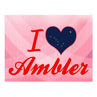 I Love Ambler, Alaska Post Cards
