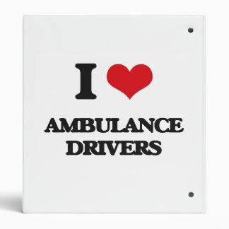 I love Ambulance Drivers Binder