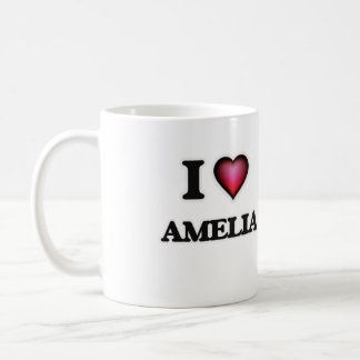 I Love Amelia Coffee Mug