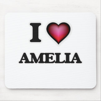 I Love Amelia Mouse Pad