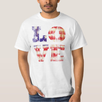 I LOVE AMERICA,AMERICAN LOVE TEE SHIRT