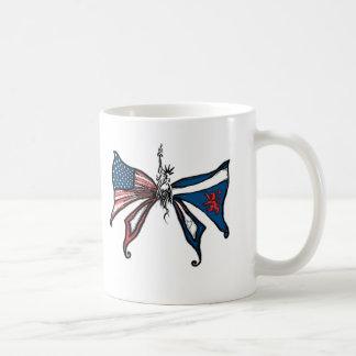 i Love america and scotland!! Coffee Mug