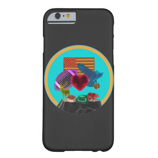 I love America Barely There iPhone 6 Case