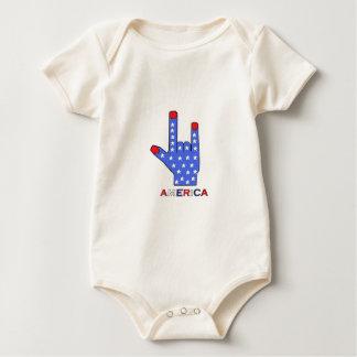 I Love America Collection Romper
