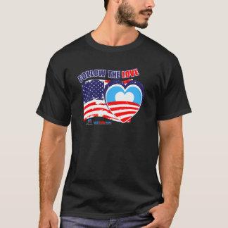 I love America - Elect Obama Now T-Shirt