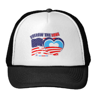 I love America - Elect Obama Now Trucker Hat