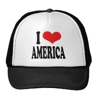 I Love America Hats