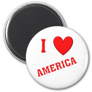 I Love America Fridge Magnets