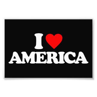 I LOVE AMERICA PHOTO