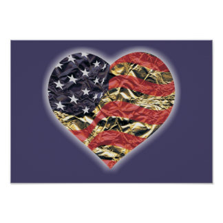 'I Love America!' Poster