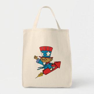 I Love America - Rocket United States Bag