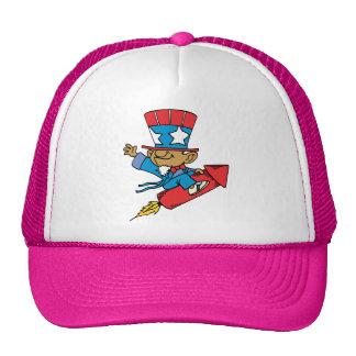I Love America - Rocket United States Trucker Hat