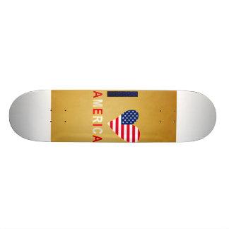 I LOVE AMERICA SKATEBOARD DECKS