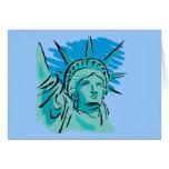 I Love America - Statue Of Liberty New York USA Card