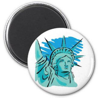 I Love America - Statue Of Liberty New York USA Magnet
