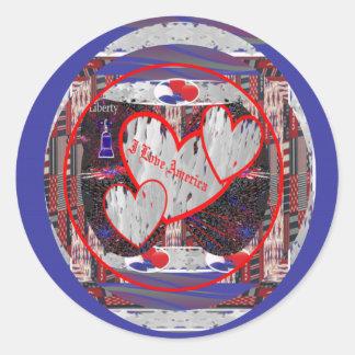 I Love America ~ Stickers