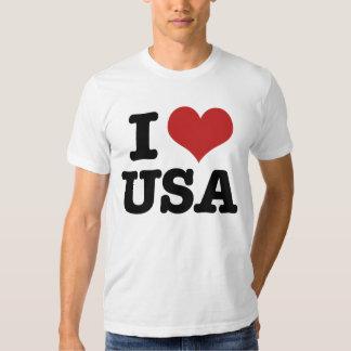 I Love America T Shirt