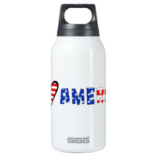 I Love America Thermos Bottle