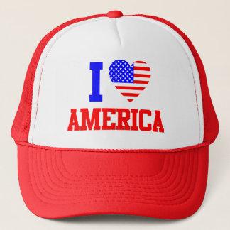 I Love America Trucker Hat