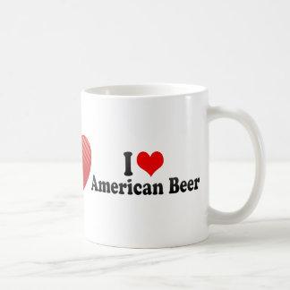 I Love American Beer Coffee Mug