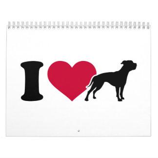 I love American Bulldogs Calendar