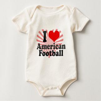 I love American Football Baby Bodysuit