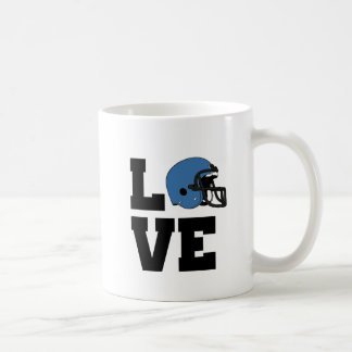 I Love American Football Coffee Mug