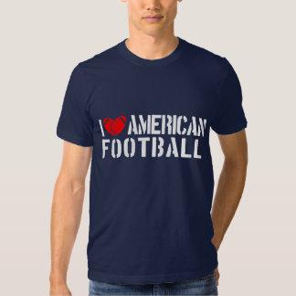 I Love American Football T-shirts