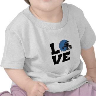 I Love American Football Tee Shirts