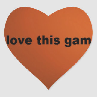 I love American footballs.png Heart Sticker