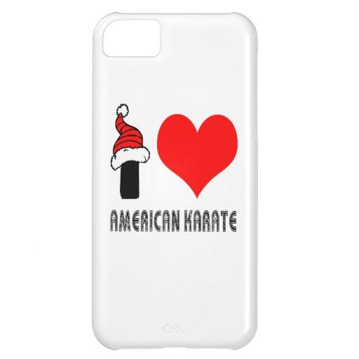 I Love American Karate Design iPhone 5C Cover