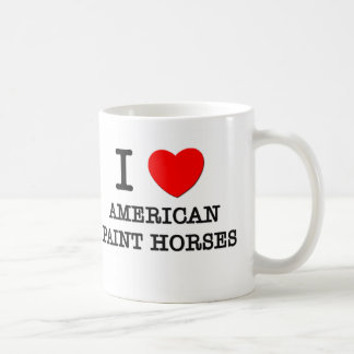 I Love American Paint Horses (Horses) Mug