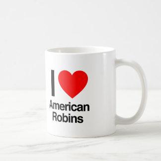 i love american robins coffee mugs
